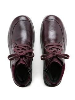 Hallux-Lammfell-Boots Sporty Bordeaux Detail 4