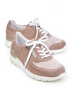 Hallux-Sneaker Extra-Komfort Rose Detail 1