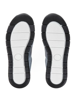 Reißverschluss-Sneaker Komfortplus Hellblau Detail 4