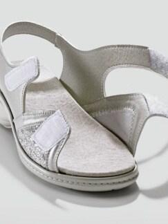 Hallux-Sandale Komfort Grau Perlato Detail 3