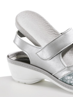 Hallux-Sandale Komfort Grau Perlato Detail 4