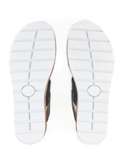 Hallux-Sandale Doppel-Polster Marine Detail 4