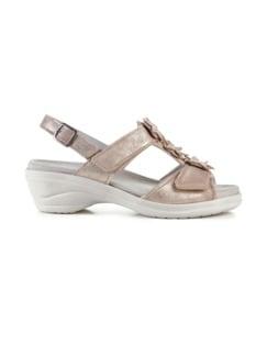Hallux-Sandale Modernchic Beige metallic Detail 2