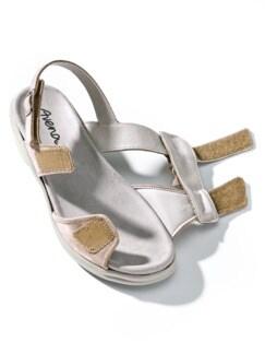 Hallux-Sandale Modernchic Beige metallic Detail 4