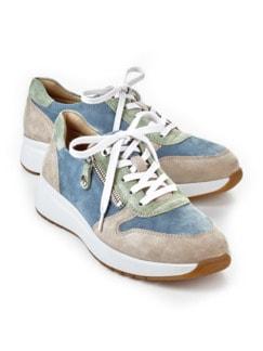 Hallux-Sneaker Fußtraum Multicolor Detail 1