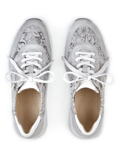 Hallux-Sneaker Fußglück Grau/Silber gem Detail 4