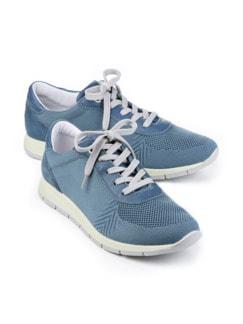 Hallux-Sneaker Leichtgewicht Jeansblau Detail 1