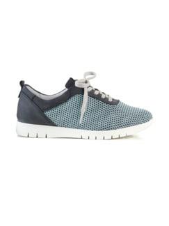 Hallux-Sneaker Strick-Dessin Blau Detail 2