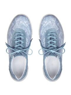 Hallux-Sneaker Softness Hellblau gem. Detail 4
