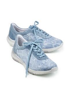 Hallux-Sneaker Softness Hellblau gem. Detail 1