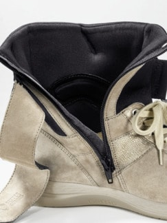 Avena-Sneaker Umknickschutz Beige Detail 4