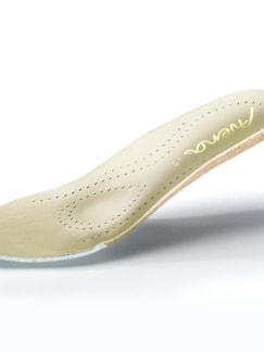 Hallux-Klett-Ballerina Blütentraum Beige gemustert Detail 3