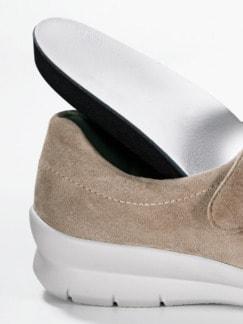 Hallux-Klett-Ballerina Extraweit Beige Detail 4