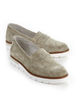 Bequem-Slipper Supersoft Khaki Detail 1