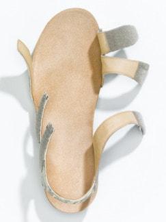 Think-Klett-Sandale Grau Detail 3