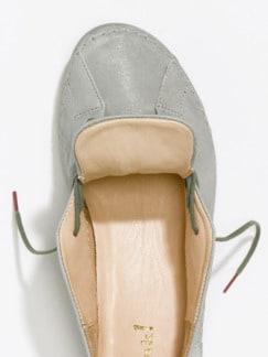 Think-Komfort-Sneaker Hellgrau Detail 4