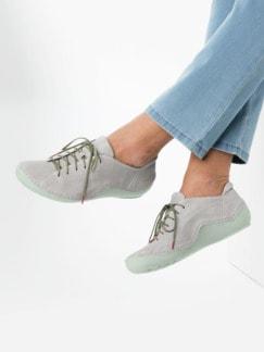 Think-Komfort-Sneaker Hellgrau Detail 3