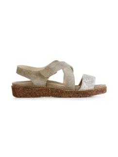 Hallux-Sandale Trittsicher Schilf Detail 2