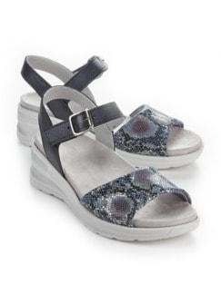 Hallux-Sandale Hüftschwung Blau Detail 1