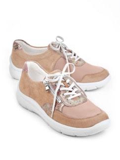 Hallux-Leicht-Sneaker Rose Detail 1
