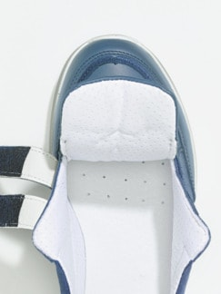 Klett-Sneaker Komfort Jeansblau Detail 3