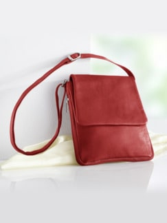 Leder-Handtasche Every Day Rot Detail 1
