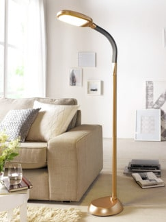 LED-Tageslicht-Standleuchte Roségold Detail 1