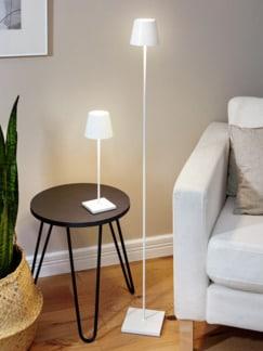 LED-Tischleuchte kabellos Weiß Detail 2