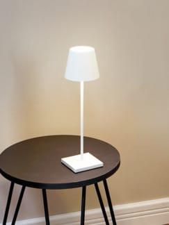 LED-Tischleuchte kabellos Weiß Detail 1