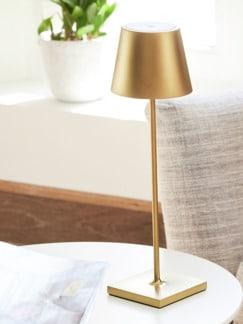 LED-Tischleuchte kabellos Gold Detail 1