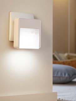 LED-Nachtlicht mit Sensor Weiß Detail 1