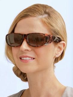 Überzieh-Sonnenbrille Damen Leo Detail 2