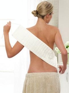 Rückenreinigungstuch Weiß Detail 1