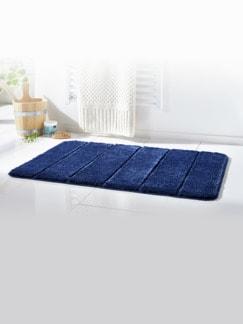 Badteppich Premium Blau Detail 1