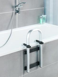 Badewannen-Einstiegshilfe Premium Silber Detail 2