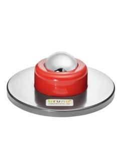 Faszien-Massageroller Komfort Silber/Rot Detail 1