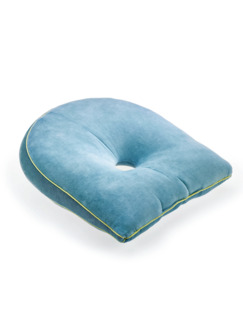 Komfort-Keilkissen Blau Detail 1