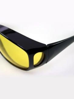 Tag- und Nacht-Brillen 2er Set Schwarz Detail 2