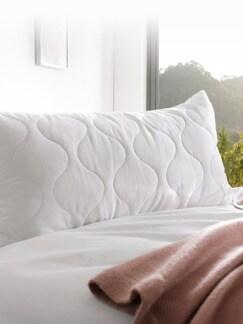 2 in 1- Komfort-Kissen Weiß Detail 1
