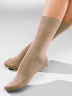 Diabetiker-Socken 2 Paar Beige Detail 1