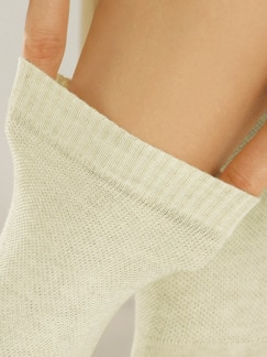 Avena-Bequemsocke Baumwolle 2Paar Beige Detail 2