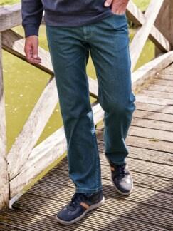 Multiflex-Jeans Hautschmeichler Dark Blue Denim Detail 1