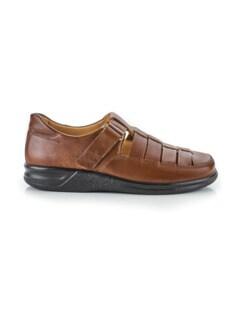 Ganter-Prophylaxe-Sandalen-Schuh Braun Detail 2