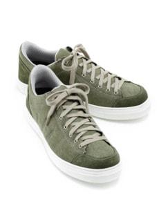 Bequem-Sneaker Fußfreude Oliv Detail 1