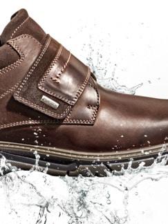 Aquastop-Klett-Boots Braun Detail 3