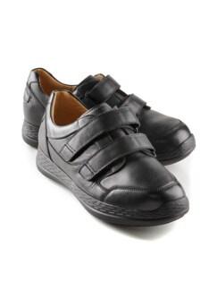 Ganter-Prophylaxe-Klett-Sneaker Schwarz Detail 1