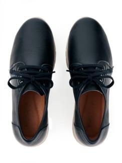Hallux-Derby-Sneaker Marine Detail 4