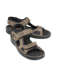 Hallux-Trekking-Sandale Schlamm Detail 1