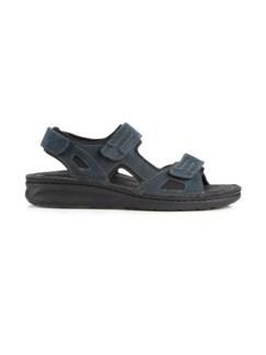 Hallux-Trekking-Sandale Blau Detail 2