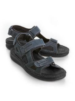 Hallux-Trekking-Sandale Blau Detail 1